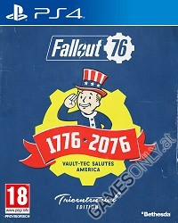 Fallout 76 [Limited Tricentennial uncut Edition] + Trolley Token (PS4)