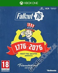 Fallout 76 [Limited Tricentennial uncut Edition] + Trolley Token (Xbox One)