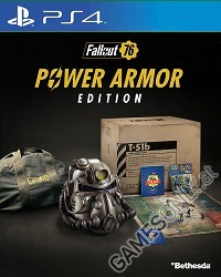 Fallout 76 [Power Armor Collectors uncut Edition] CH Import + BETA Vorabzugang (PS4)