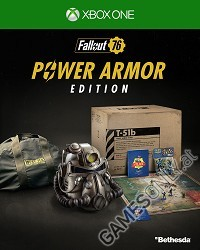 Fallout 76 [Power Armor Collectors uncut Edition] CH Import + BETA Vorabzugang (Xbox One)