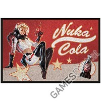 Fallout Nuka Cola Pin-Up Fußmatte (Merchandise)