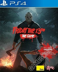 Friday The 13th The Game [uncut Edition] - Cover beschädigt (PS4)