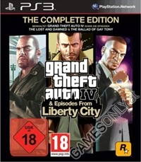 GTA 4 - The Complete Edition [uncut Edition] + Episodes (PS3)