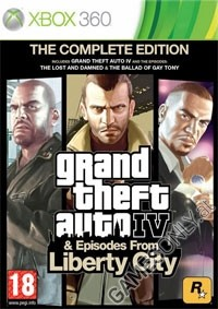 GTA 4 - The Complete Edition [uncut Edition] + Episodes (Xbox360)