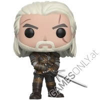 Geralt The Witcher POP! Vinyl Figur (10 cm) (Merchandise)