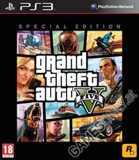GTA 5 - Grand Theft Auto V [Special Edition uncut] (PS3)
