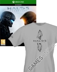 Halo 5: Guardians [D1 uncut Edition] inkl. Bonuswaffe + T-Shirt (Xbox One)