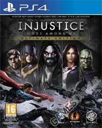Injustice: G�tter unter uns (Gods Among Us) [Ultimate uncut Edition] (PS4)