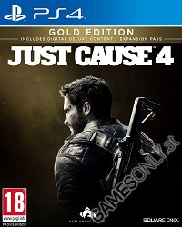 Just Cause 4 [Gold uncut Edition] (PS4)
