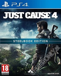 Just Cause 4 [Limited Steelbook uncut Edition] (exklusiv) (PS4)
