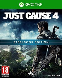 Just Cause 4 [Limited Steelbook uncut Edition] (exklusiv) (Xbox One)