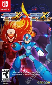 Mega Man X Legacy Collection 1 + 2 [US Edition] (Nintendo Switch)