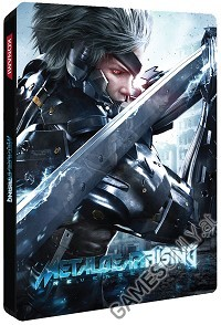 Metal Gear Rising Revengeance PS3 Sammler Steelbook (Merchandise)