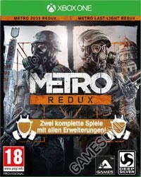 Metro Redux: Metro Last Light + Metro 2033 [uncut Edition] (Xbox One)