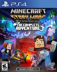 Minecraft: Story Mode The Complete Adventure (PS4)
