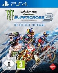 Monster Energy Supercross - The Official Videogame 3 [Bonus Edition] (PS4)