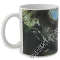 Monster Hunter Logo Heat Reactive Tasse (Merchandise)