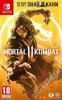 Mortal Kombat 11 [Limited Day 1 uncut Edition] inkl. Shao Kahn (Nintendo Switch)