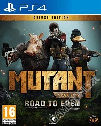 Mutant Year Zero: Road to Eden [Deluxe Edition] (PS4)