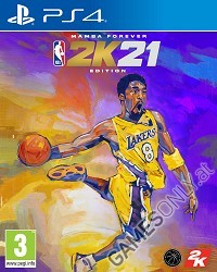 NBA 2K21 [Mamba Forever Edition] (PS4)