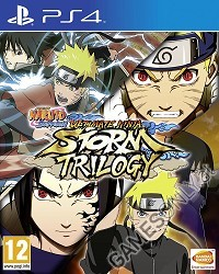 Naruto Shippuden: Ultimate Ninja Storm Trilogy - Cover beschädigt (PS4)