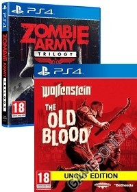 Nazi Zombie Pack Vol. 1: Wolfenstein: The Old Blood + Sniper Elite: Nazi Zombie Army Trilogy [uncut Edition] (PS4)