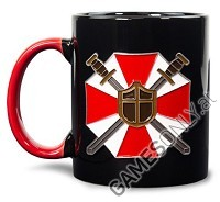 Official Resident Evil Metall Badge Tasse (Merchandise)