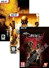 PC Triple Pack: Darkness 2 - Saints Row 2 - Stalker [uncut Edition] (PC)