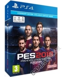 PES 2018: Pro Evolution Soccer [Legendary Edition] (PS4)