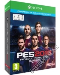 PES 2018: Pro Evolution Soccer [Legendary Edition] (Xbox One)