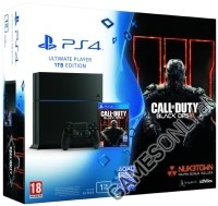 PlayStation 4 (PS4) Konsole 1 TB Ultimate Player Edition + Call Of Duty Black Ops 3 (PS4)
