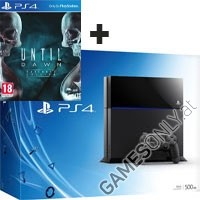 PlayStation 4 (PS4) Konsole Black + Until Dawn (PS4)