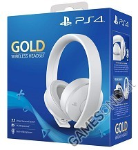 PlayStation 4 (PS4) Wireless 7.1 Headset GOLD Edition (White) (PS4)