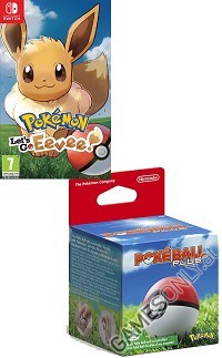Pokemon: Lets Go! Evoli! + Pokeball Plus (Hardbundle) (Nintendo Switch)