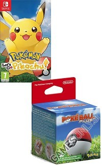 Pokemon: Lets Go! Pikachu! + Pokeball Plus (Hardbundle) (Nintendo Switch)