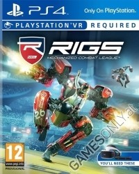 RIGS: Mechanized Combat League VR - Cover beschädigt (PS4)