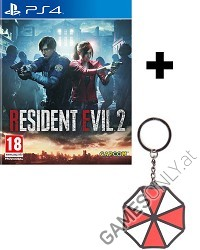 Resident Evil 2 Remake [HD uncut] Early Delivery Edition + Umbrella Keychain (PS4)