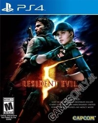 Resident Evil 5 [HD Bonus US uncut Edition] (PS4)