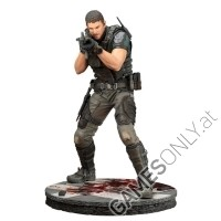 Resident Evil Chris Redfield Figur 1:10 (29cm) (Merchandise)