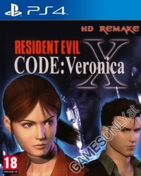 Resident Evil Code Veronica X [uncut Edition] (PS4)