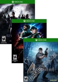 Resident Evil Pack 4 + 5 + 6 [HD uncut Edition] (Xbox One)