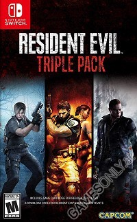Resident Evil Triple Pack [Limited US uncut Edition] (Nintendo Switch)