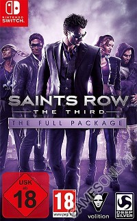Saints Row 3: The Third - The Full Package Deluxe Pack [uncut Edition] (Nintendo Switch)