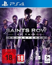 Saints Row 3: The Third [Remastered uncut Edition] (PS4)