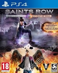 Saints Row 4 [Re-elected uncut Edition] inkl. Gat Out of Hell DLC (PS4)