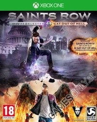 Saints Row 4 [Re-elected D1 uncut Edition] inkl. Gat Out of Hell DLC (Xbox One)