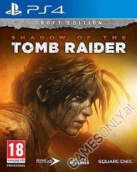 Shadow of the Tomb Raider [Limited Croft uncut Edition] + Bonus DLC Paket (PS4)