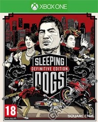 Sleeping Dogs [Limited Definitive uncut Edition] - Cover beschädigt (Xbox One)