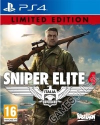 Sniper Elite 4 [Limited Kill Hitler EU uncut Edition] inkl. Bonus DLC (PS4)