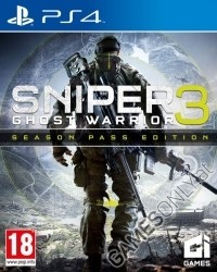 Sniper: Ghost Warrior 3 [Season Pass EU Early Delivery uncut Edition] inkl. 7 Bonus DLCs (PS4)